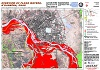 Overview of flood waters, N'Djamena, Chad