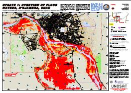 Update 1: Overview of flood waters, N'Djamena, Chad