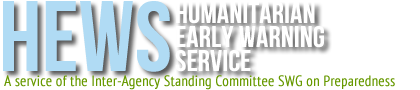 Humanitrian Early Warning Service
