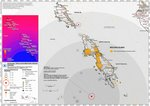 Earthquake  Kepulauan Mentawai Region, Indonesia, 27 October 2020 - High resolution