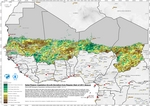 Sahel Region Vegetation Growth Deviation From Regular Start of 2011 Season (Drought)