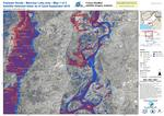 Pakistan floods - Manchar lake area Satellite detected water, 22 September 2020 - Map 1 of 3
