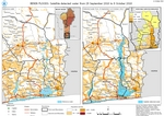 Benin Floods: Satellite detected water from 29 September 2020 to 8 October 2020
