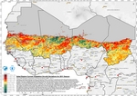 Sahel, Region Current Vegetation Growth Deviations for 2011 Season (Drought)