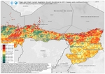 Niger and Chad  Current Vegetation Growth Deviations for 2011 Season and Livelihood Zones (Drought)