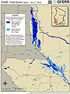 Chad. Flood Extent (Sep 1 - Nov 17, 2020)