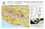 Guatemala, Volcano Alert, Population at Risk, 11 January 2021