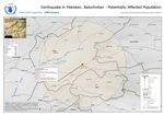 Pakistan, Balochistan Region, Earthquake, AOC, 29 October