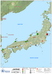 Japan Earthquake, Nuclear power plants, 15 March 2020